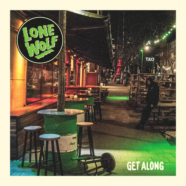 "Lone Wolf- Get Along 7"" ~EX APERS / ACCELERATORS!"
