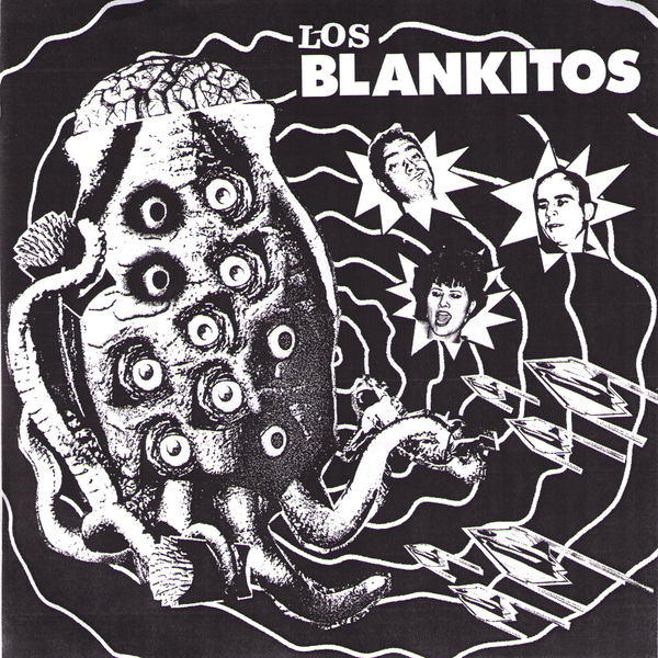 "Los Blankitos- You Make Me Drool 7"" ~LTD TO 100 ON WHITE WAX!"