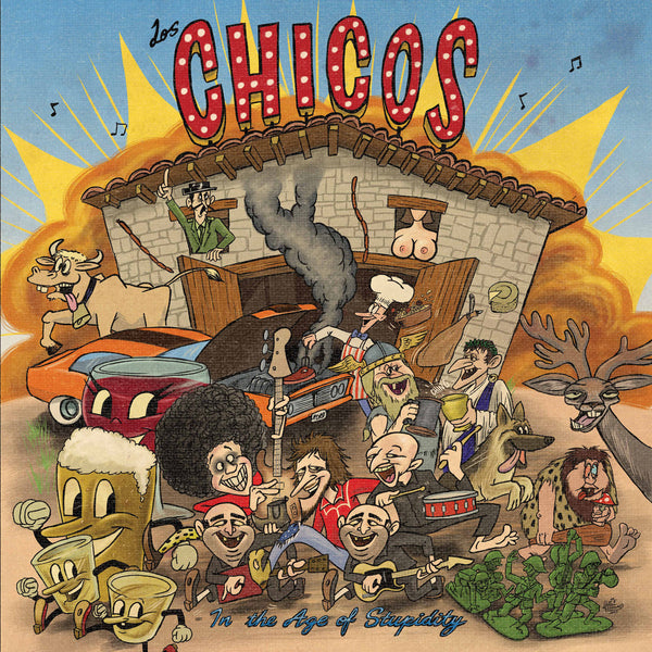 Los Chicos- In The Age Of Stupidity CD