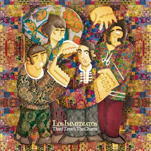 Los Immediatos- Third Time's The Charm LP ~DOCTOR EXPLOSION! - Sunny Day Records - Dead Beat Records