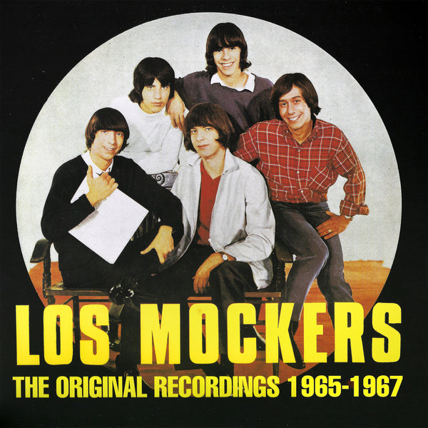 Los Mockers- Original Recordings 1965-1967 LP ~REISSUE / RARE YELLOW WITH BLACK SPLATTER WAX!