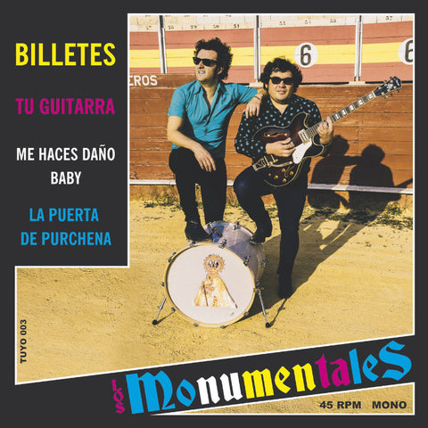 "Los Monumentales- Billetes 7"" ~BILLY CHILDISH!"