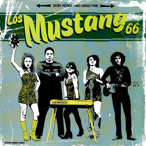 Los Mustang 66- S/T LP ~THE STAGGERS!