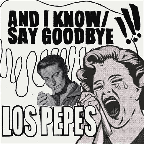 "Los Pepes- And I Know 7"" ~YELLOW SPLAT WAX LTD TO 200! - Wanda - Dead Beat Records - 1"