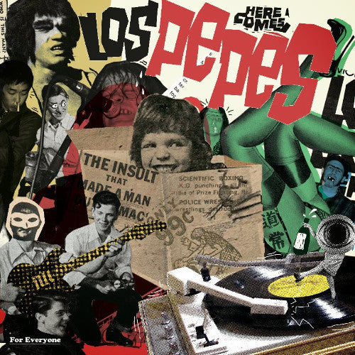 Los Pepes- For Everyone LP ~BUZZCOCKS! - Wanda - Dead Beat Records
