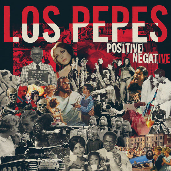 Los Pepes- Positive Negative LP ~WANDA RECORDS!