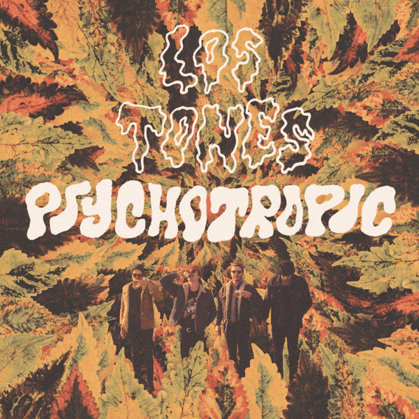 Los Tones- Psychotropic LP ~KILLER! - Groovie - Dead Beat Records