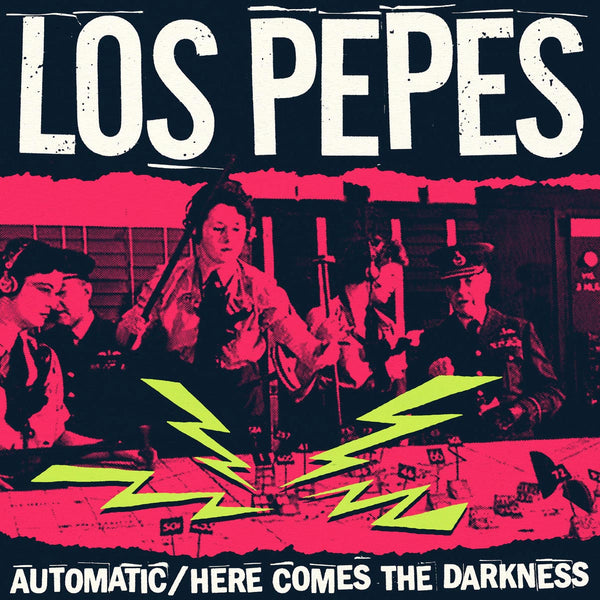"Los Pepes- Automatic 7"" ~TESTORS / WANDA RECORDS!"