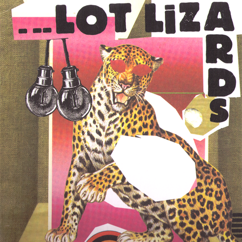"Lot Lizards- S/T 10"" ~BLACK TIME!"