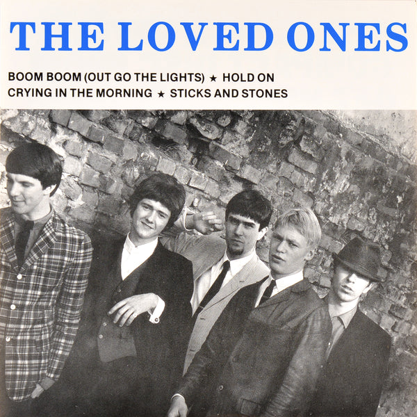 "Loved Ones- Boom Boom (Out Go The Lights) 7"" ~YARDBIRDS!"