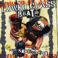 Lower Class Brats- The New Seditionaries LP - Dirty Punk - Dead Beat Records