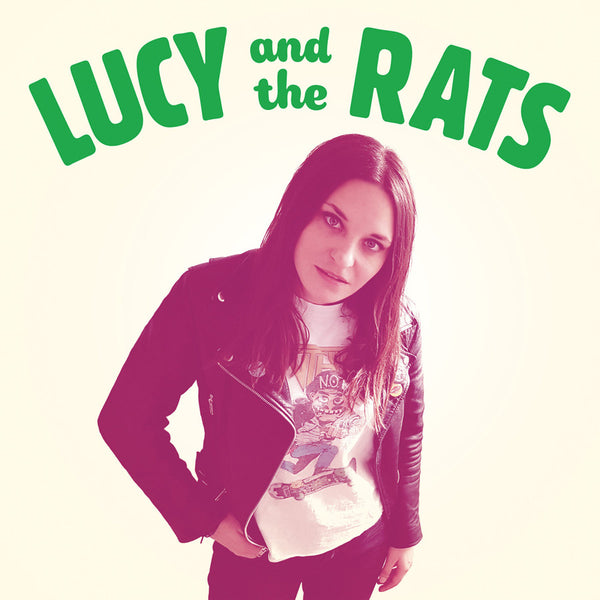 Lucy And The Rats- S/T LP ~RARE CLEAR AND GREEN MARBLE WAX!