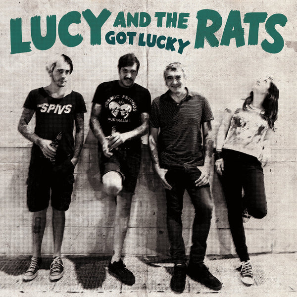 Lucy And The Rats- Got Lucky CD ~BLONDIE!