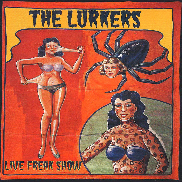 Lurkers -Live Freak Show CD ~WITH TWO VIDEOS!