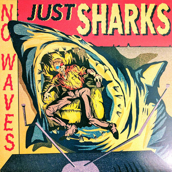 Mad Doctors- No Waves, Just Sharks LP ~SPEARMINT GREEN WAX LTD 100!
