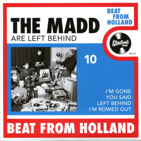 "The Madd- Are Left Behind 7"" ~ W/ RONNIE OF OUTSIDERS!"