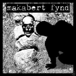 "Makabert Fynd- S/T 7"" - FLAT BLACK - Dead Beat Records"