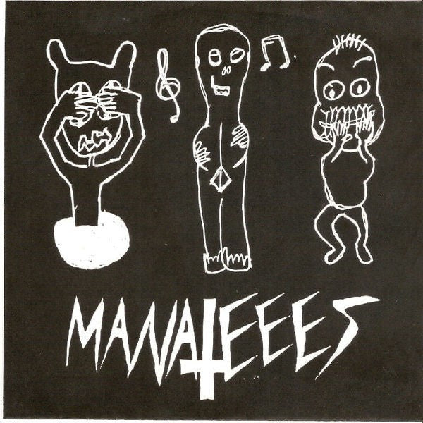 "Manatees- Dumbesticated 7"" ~COVER LTD TO 125! - Goodbye Boozy - Dead Beat Records"