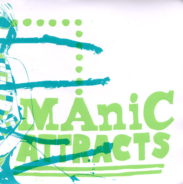"Manic Attracts- 'S/T' 7"" - Yakisakana - Dead Beat Records"