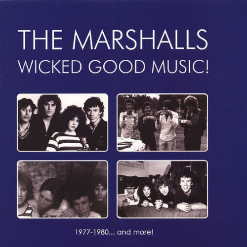 The Marshalls- Wicked Good Music LP ~NERVOUS EATERS! - Rockin Bones - Dead Beat Records