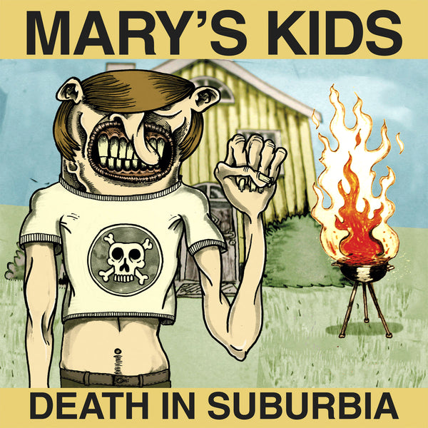 "Mary's Kids- Death In Suburbia 10"" ~ZEKE!"