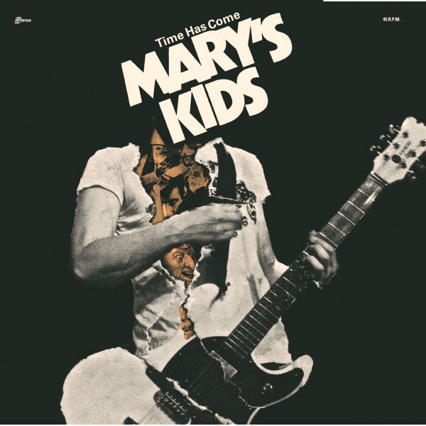 "Mary's Kids- Time Has Come 7"" ~EX MENSEN / ON GHOST HIGHWAY RECORDINGS!"