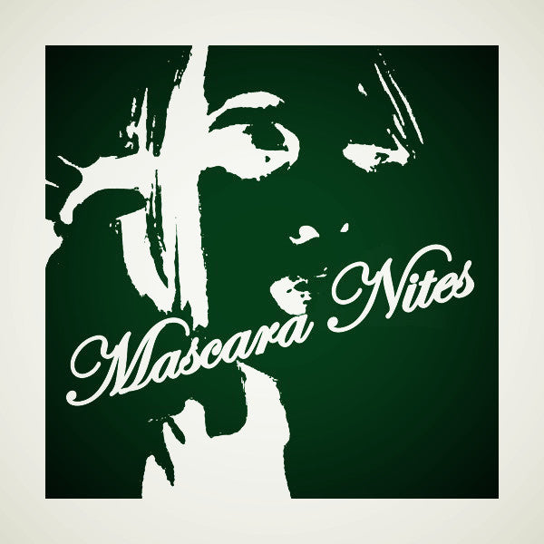 MASCARA NITES - S/T LP ~100 WHITE WAX! - Shake - Dead Beat Records