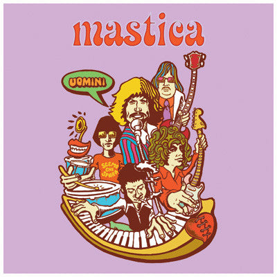 "MASTICA - 'Uomini' 7"" - Crusher - Dead Beat Records"