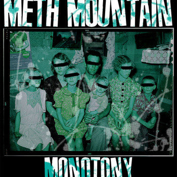 "Meth Mountain- Monotony 7"" ~OUT OF PRINT! - Self Aware - Dead Beat Records"