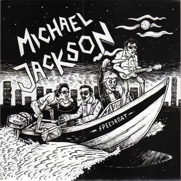 "Michael Jackson Unofficial- Speedboat 7"" ~EX RICKY C QUARTET! - NO FRONT TEETH - Dead Beat Records"
