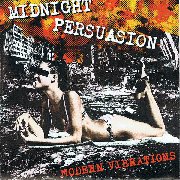 "Midnight Persuasion- Modern Vibrations 7"" ~EX MODERN ACTION! - NO FRONT TEETH - Dead Beat Records"
