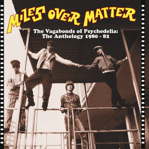 Miles Over Matter- Vagabonds of Psychadelia: Anthology CD ~REISSUE! - Paisley Archive - Dead Beat Records