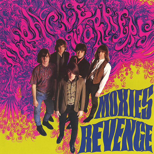 Miracle Workers- Moxie's Revenge LP ~GATEFOLD JACKET /  RARE ORANGE WAX!