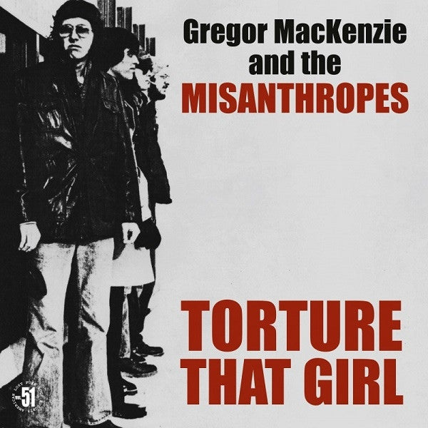 The Misanthropes - Torture that Girl LP ~REISSUE - Rave Up - Dead Beat Records