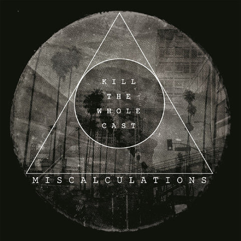 Miscalculations- Kill The Whole Cast LP ~RARE CLEAR SPLAT WAX! - Ptrash - Dead Beat Records - 1