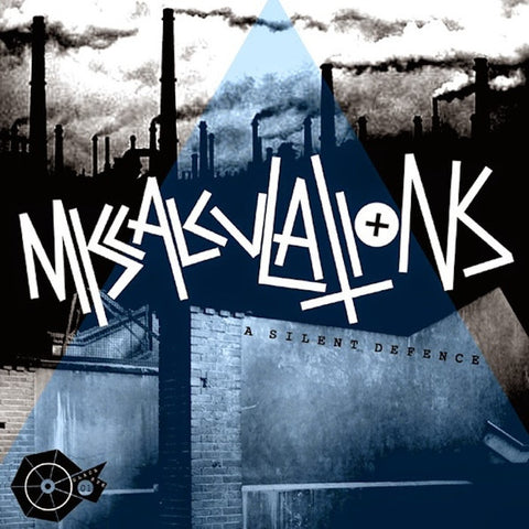 "Miscalculations- A Silent Defence 7"" ~ALTERNATE COVER LTD TO 100! - NO FRONT TEETH - Dead Beat Records"