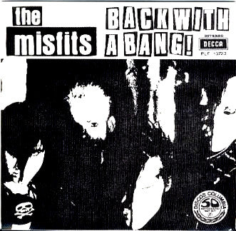 "Misfits- Back With A Bang 7"" - GRAVACAO SONORA - Dead Beat Records"