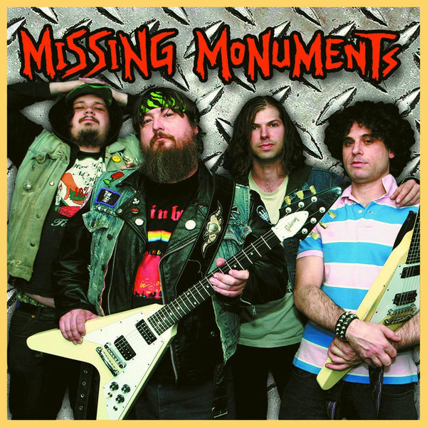 Missing Monuments- S/T LP ~RARE GOLD WAX LTD TO 200!