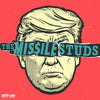 Missile Studs- Hey We're The LP ~RED WAX + CUT OUT MASK / RARE TRUMP COVER!