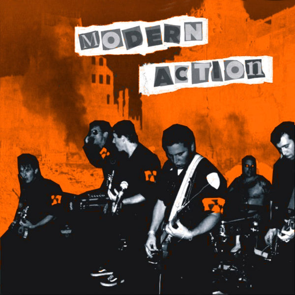 Modern Action- Molotov Solution LP ~EX BRIEFS/BODIES!