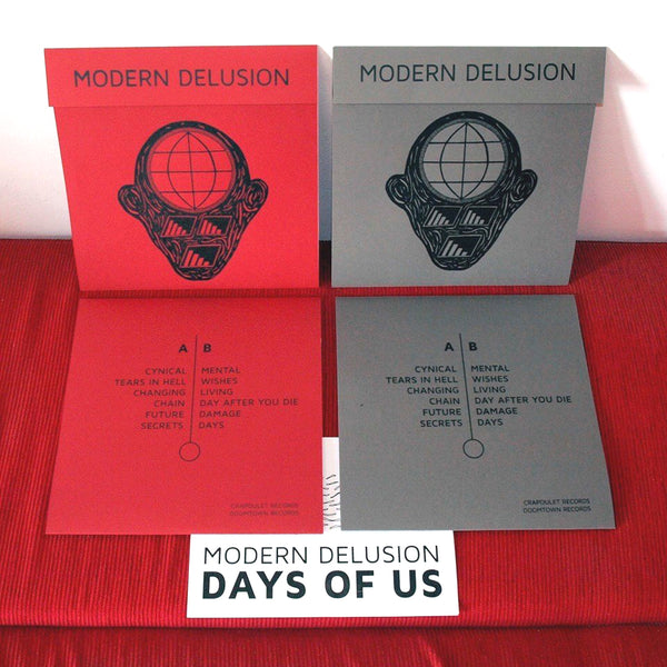 Modern Delusion- Days Of Us LP ~NERVOUS GENDER!