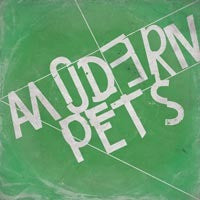 MODERN PETS - S/T LP ~RARE GREEN COVER!!! - Modern Action - Dead Beat Records