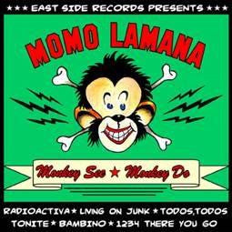 "Momo Lamana- Monkey See Monkey Do 10"" ~CRAMPS! - Eastside - Dead Beat Records"