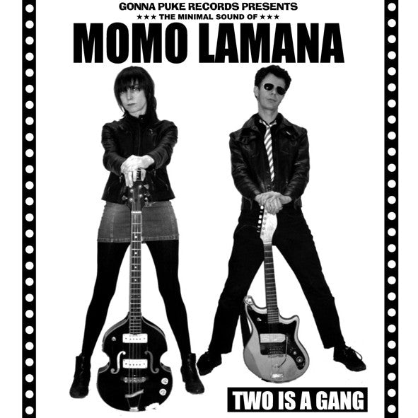 Momo Lamana- Two Is A Gang LP ~300 PRESSED! - Gonna Puke - Dead Beat Records