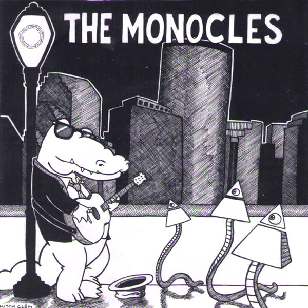 "The Monocles- S/T 7"" ~BUZZCOCKS!"