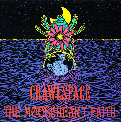 "CRAWLSPACE/MOOSEHEART FAITH- 'Split' 7"" - Behemoth - Dead Beat Records"
