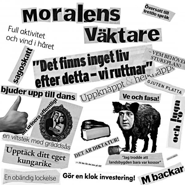"MORALENS VÄKTARE – S/T 7"" - Ken Rock - Dead Beat Records"