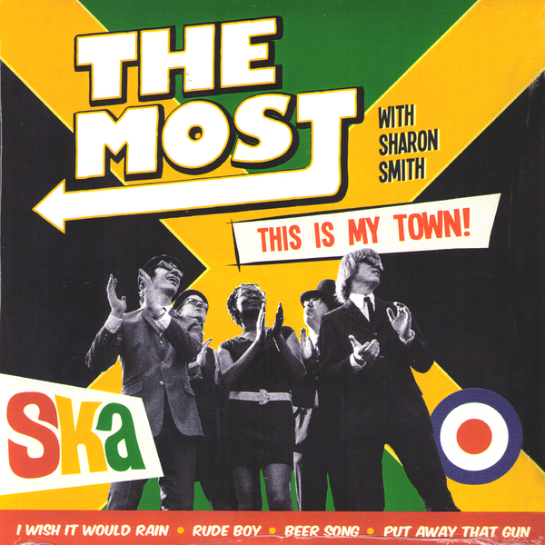 "The Most With Sharon Smith- This Is My Town 7"" ~PRINCE BUSTER!"