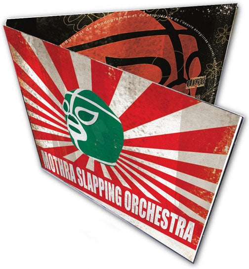 Mothra Slapping Orchestra- S/T CD ~BLOODSHOT BILL! - Band - Dead Beat Records