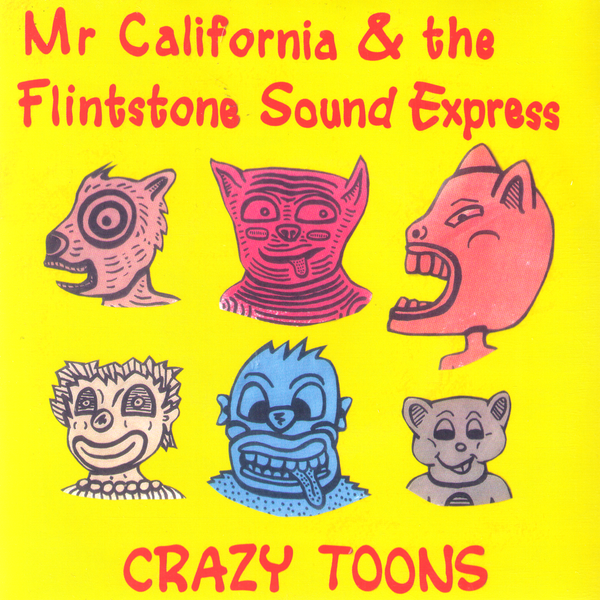 "Mr California And The Flintstone Sound Express- S/T 7"" ~SOCKEYE!"